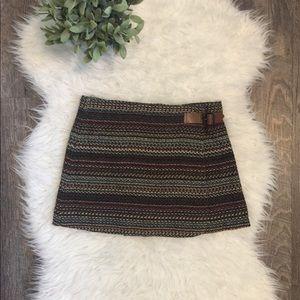 🍍3/$25🍍Zara girls tweed buckle wrap skirt 11 /12